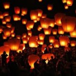The Joy of Lighting Sky Lanterns