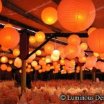 Round and Square Paper Lanterns
