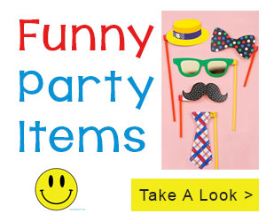 funny party items online