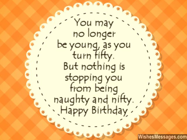 50th Birthday Quotes Wishes