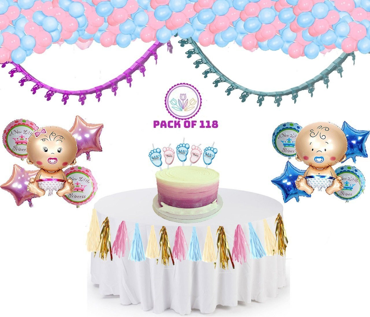 Decoration Kit for Baby Shower and Party (AN - Baby Shower ...