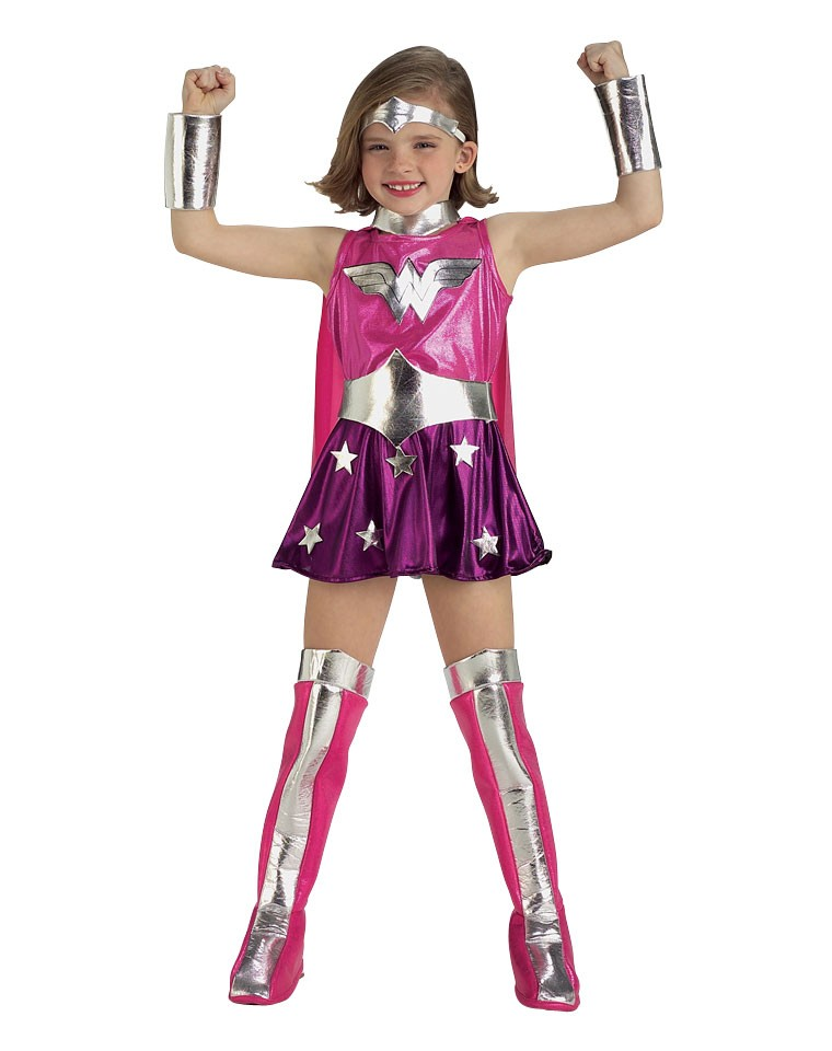 Pink Wonder Woman Costume For Girls