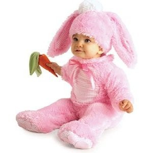 Pink Rabbit Costume For Babies