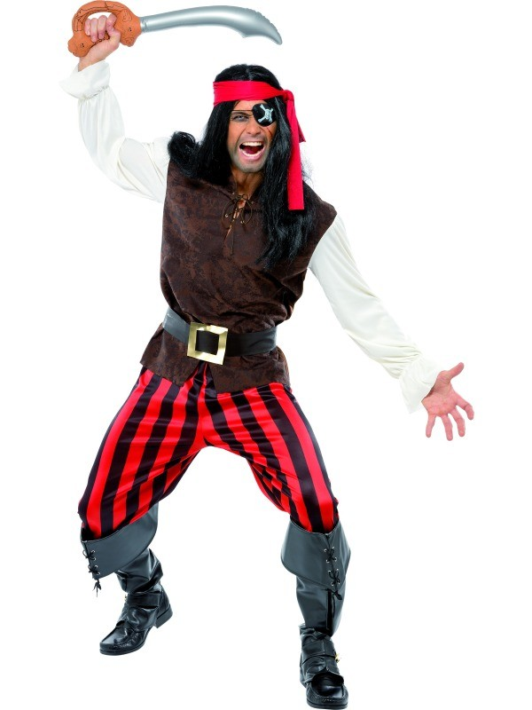 Pirate Ship's Mate Costume for Men