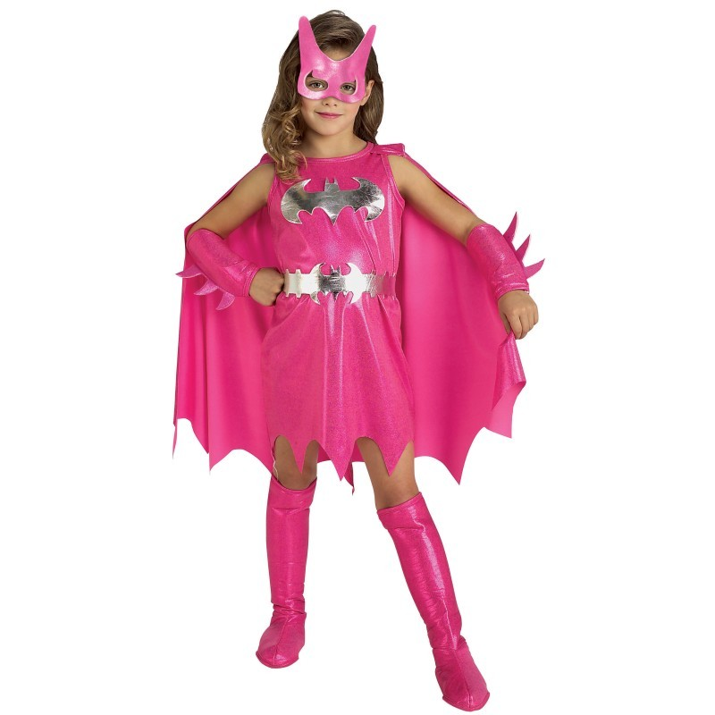 Pink Batgirl Costume For Girls