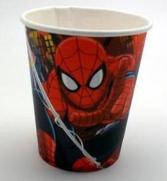 Spiderman Cups - Pack of 10