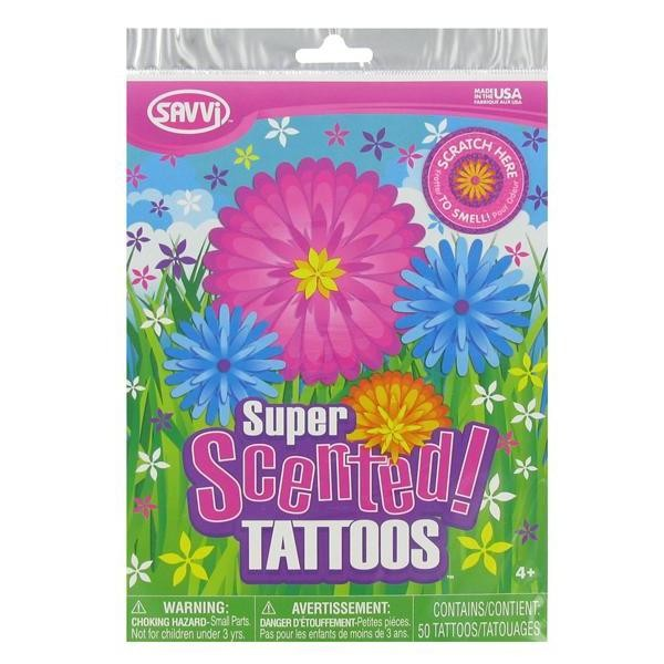 Super Scented Temporary Tattoos