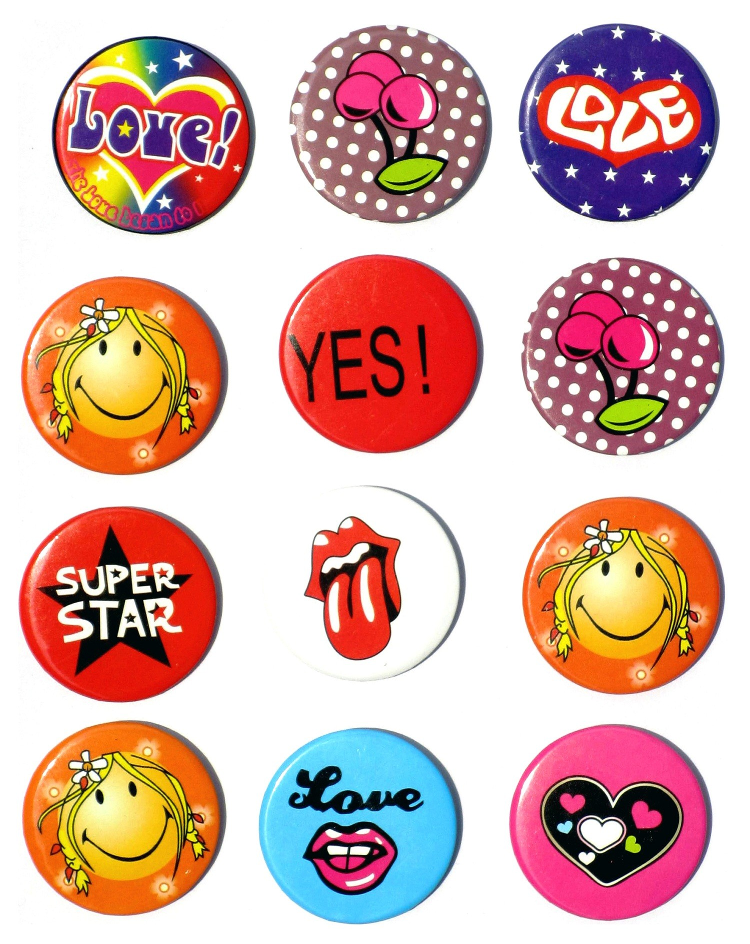 Bachelorette Party Badges (Set of 8)