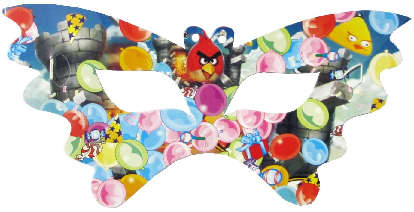 Angry Birds Paper Eye Masks (Pack of 10)