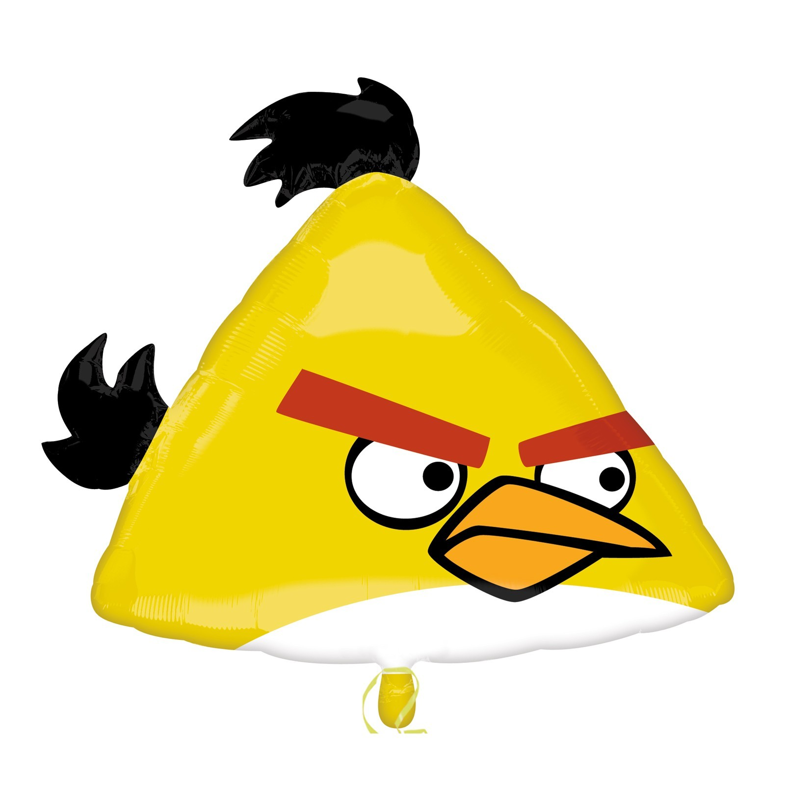 Angry Birds SuperShape Yellow Bird Foil Balloon 23 in x 20 in