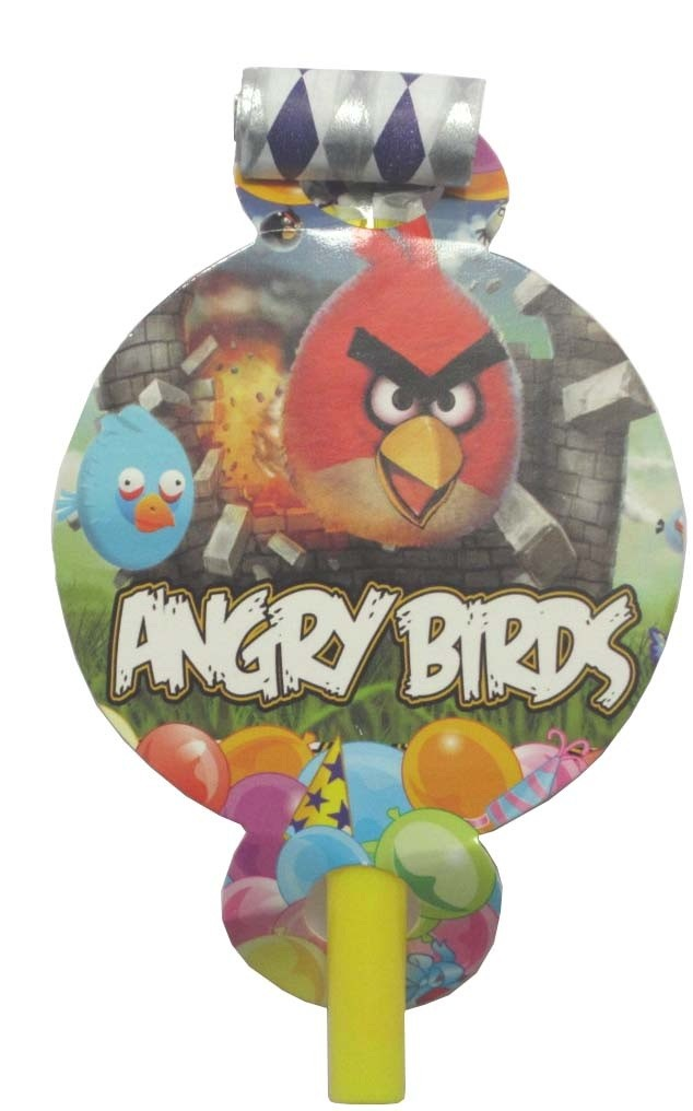Angry birds Party Blowouts (Pack Of 10 )