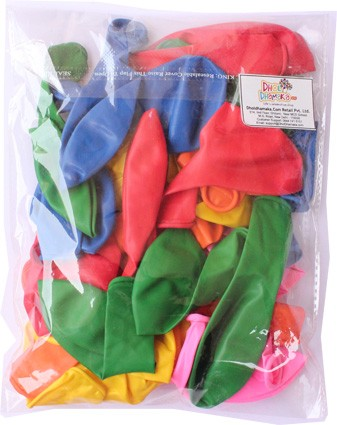 Assorted Latex Balloons - Pack of 10 - 12""