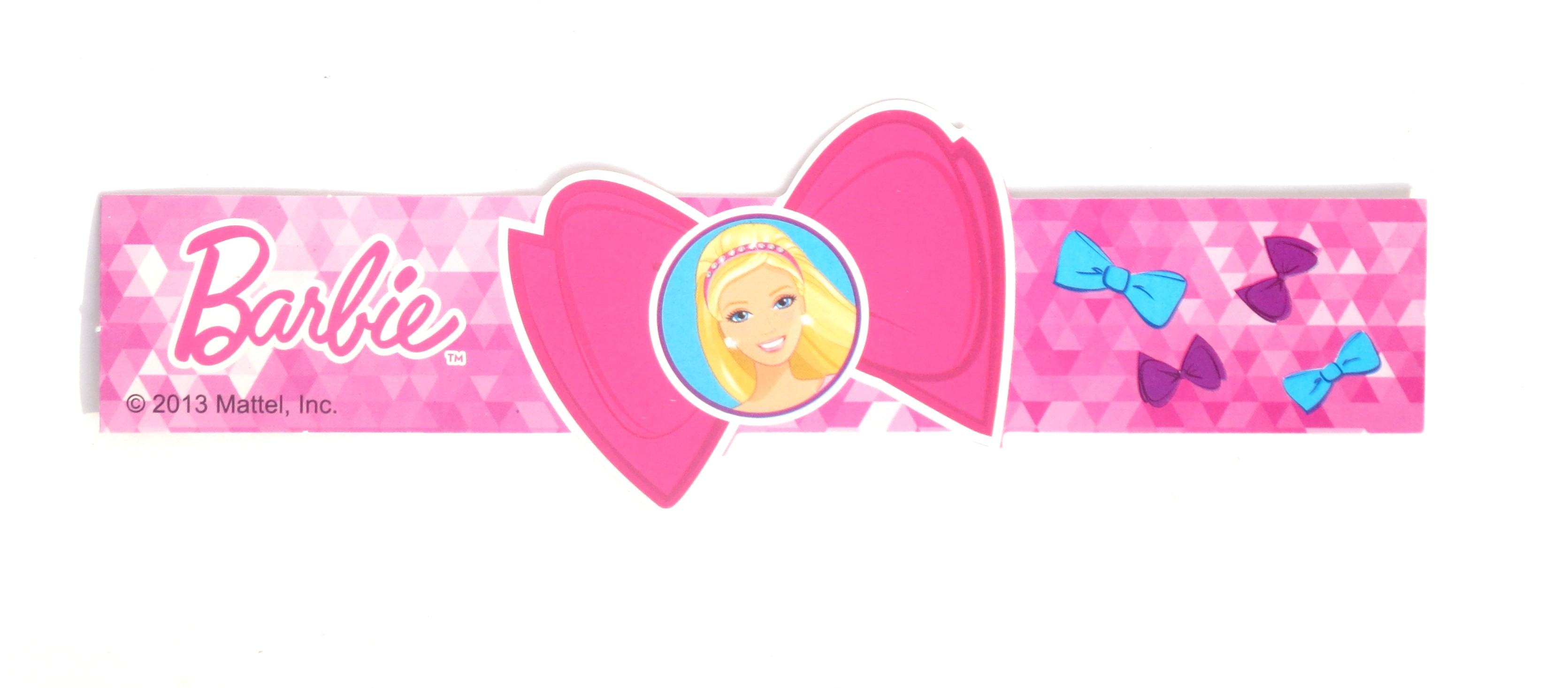 Barbie Party Theme Wrist Bands - (Pack Of 8)