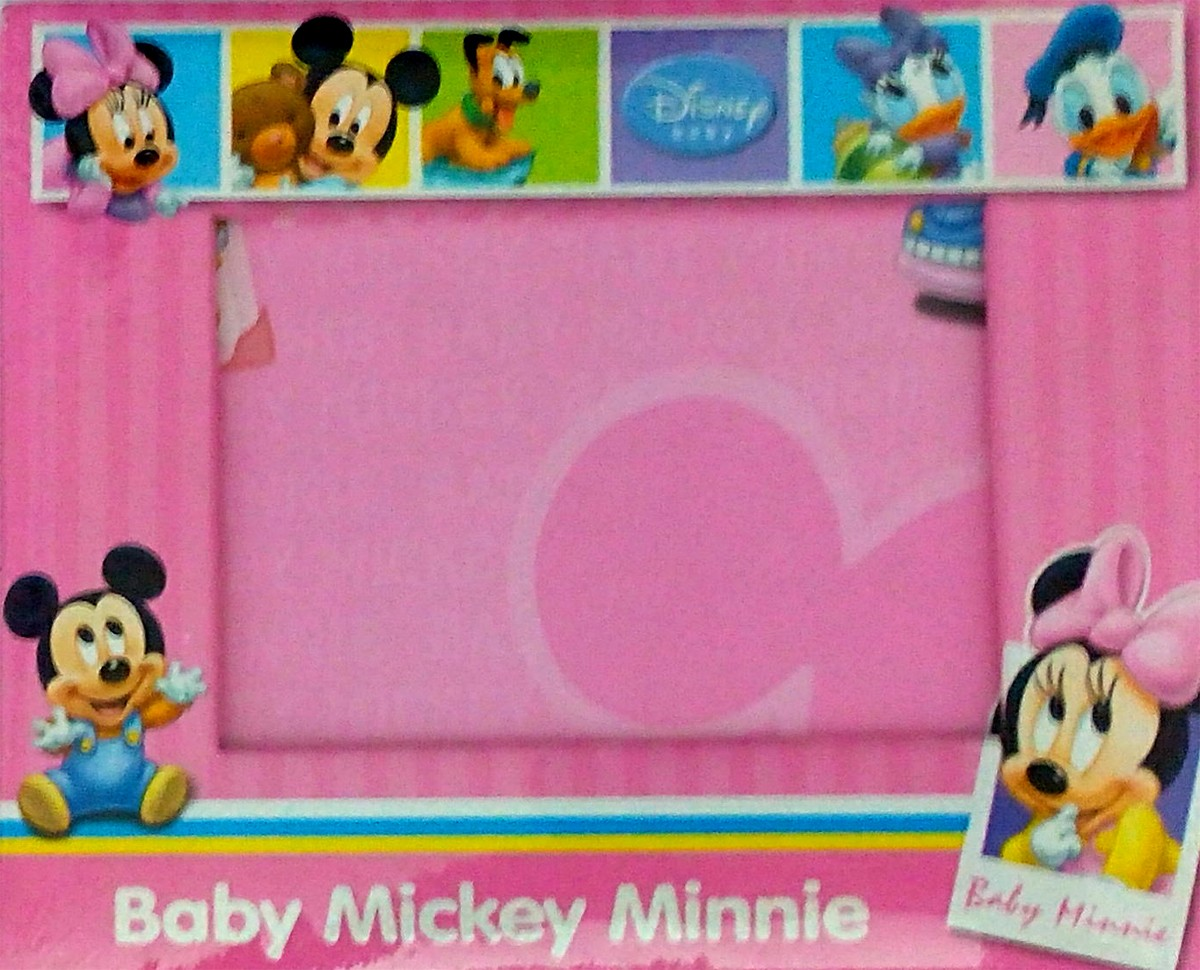 Mickey Mouse Photo Frame Pink Mickey Mouse Theme Kids Birthday