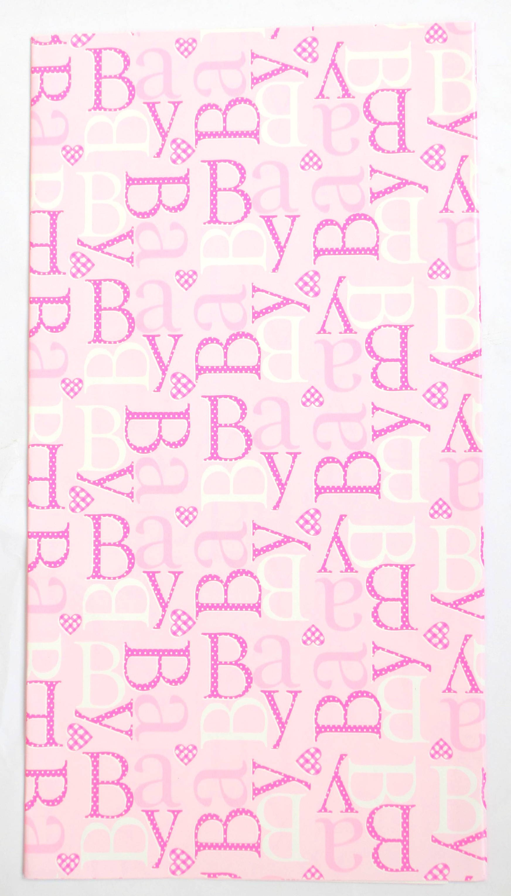Jumbo Baby Colors Gift Wrap (Pack Of 10)