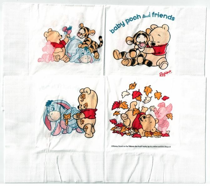 "Winnie ""Baby Pooh and Friends"" Paper Napkins"