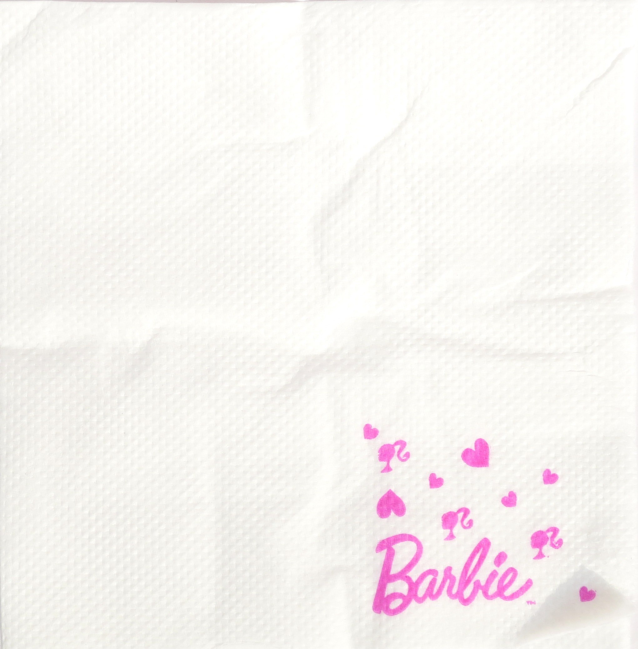 Barbie Party Paper Napkin - (Pack Of 20)