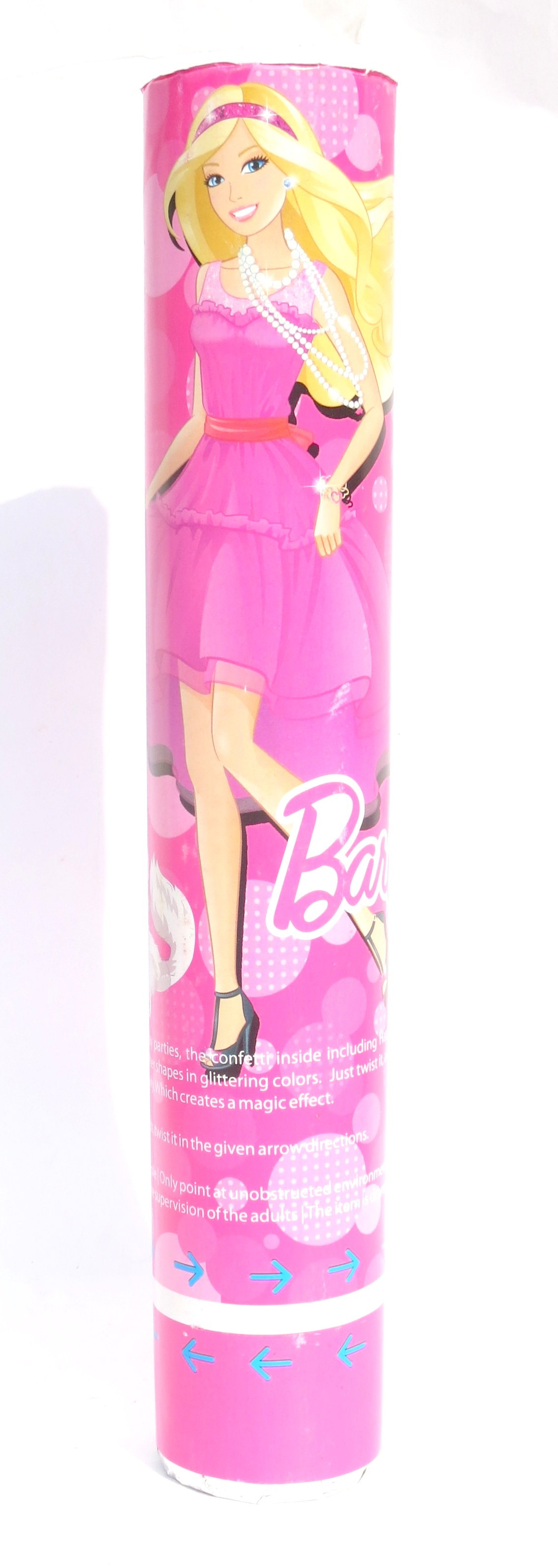 """Barbie Party Poppers - 12"""""""
