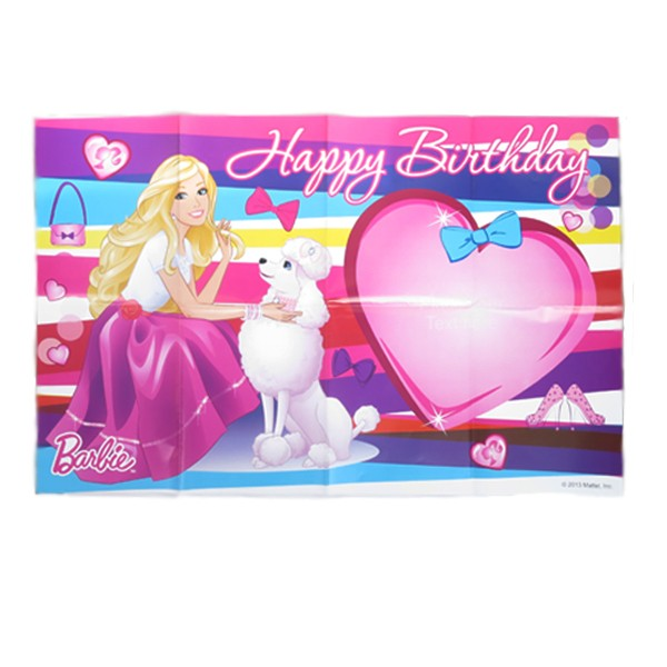 barbie happy birthday poster buy barbie happy birthday poster