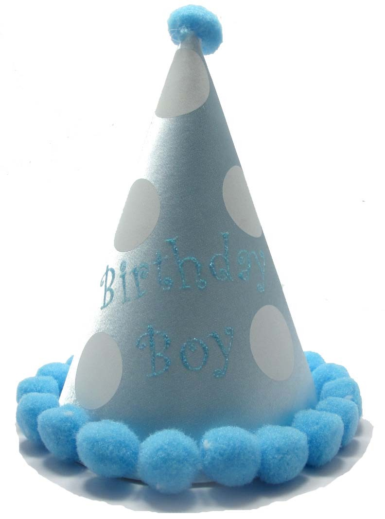 Premium Blue - Birthday Boy Hat (All Age)