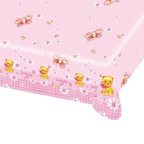 Birthday Girl Party Table Cover