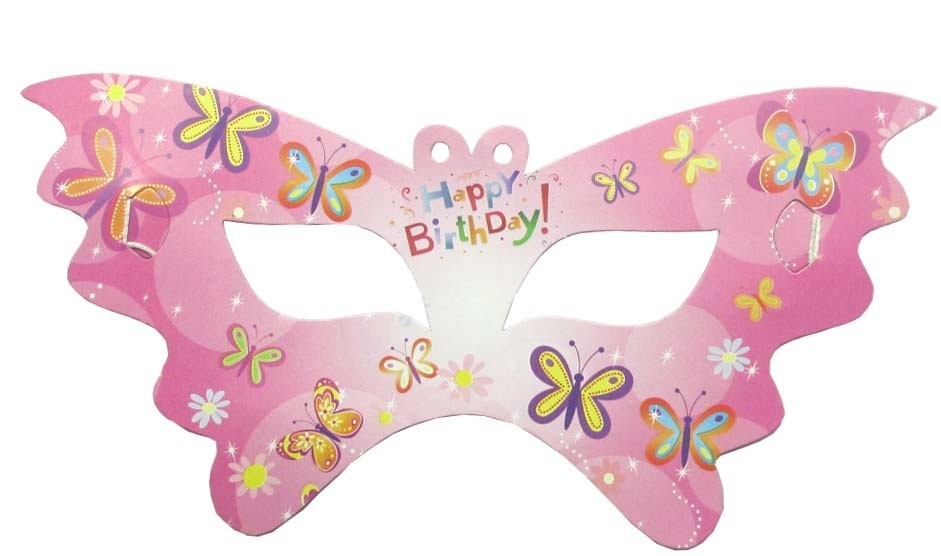 Butterfly Theme Party Eye Mask (Pack of 10)