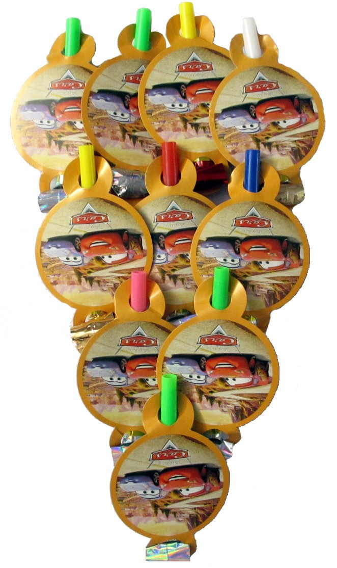Cars Party Horns (Pack of 10)