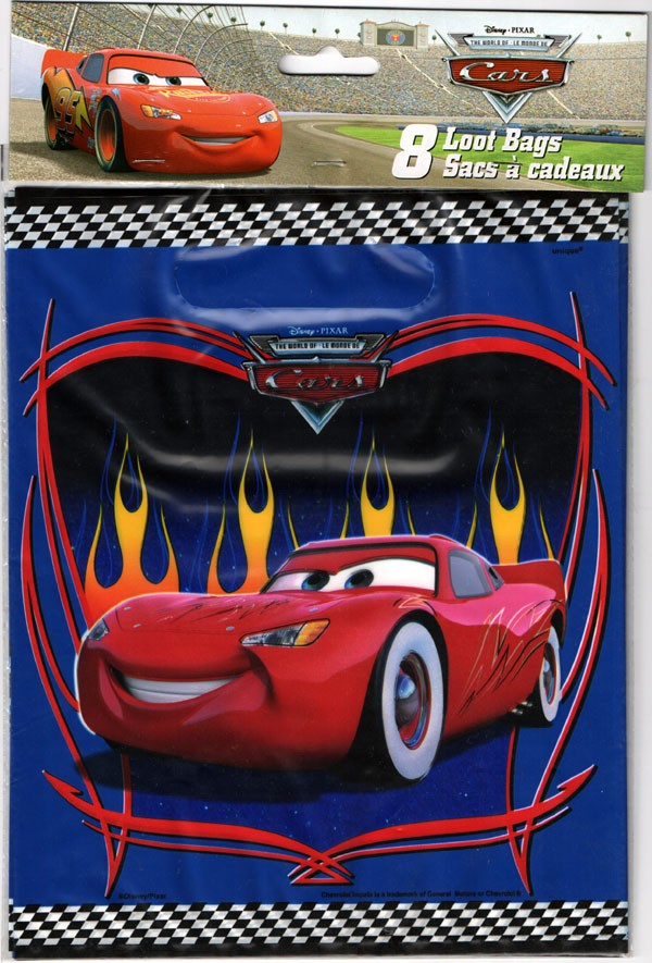 Cars Loot Bags -Pack of 8
