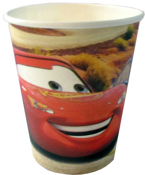 Cars Paper Cups (Pack Of 10)