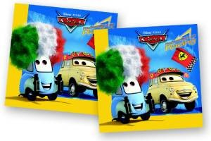 Cars 2 ply Premium Napkins -Pack of 20 - Large