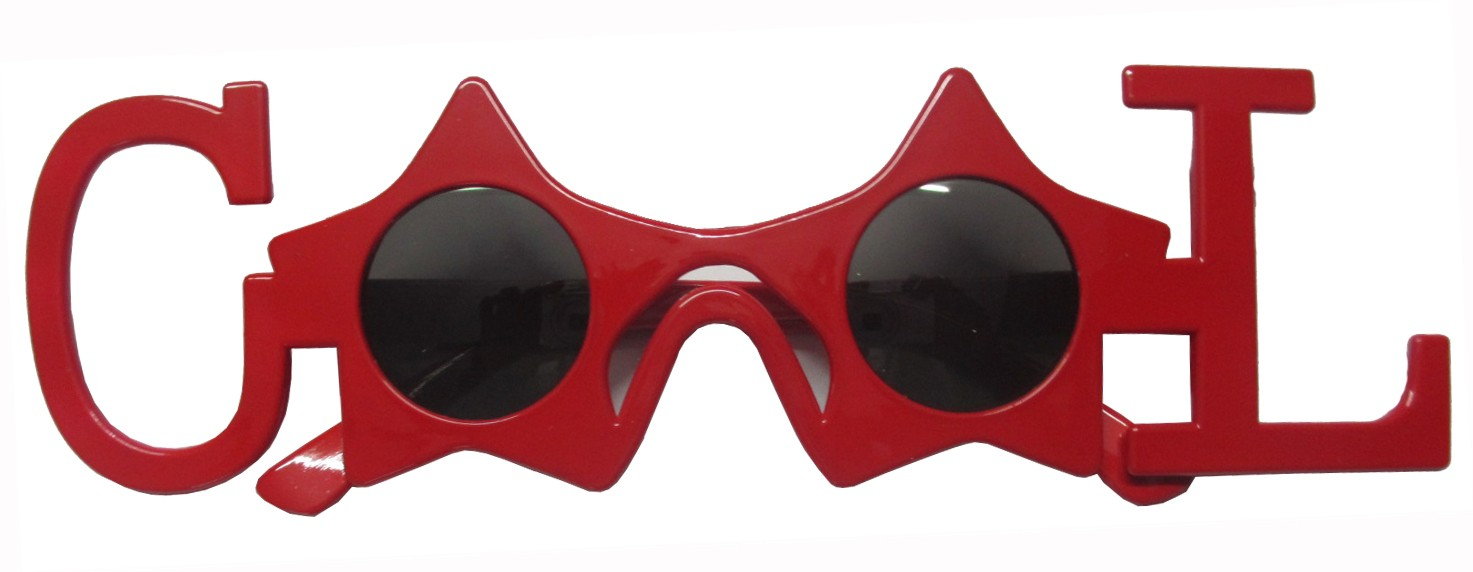 Cool Party Glasses (Red)