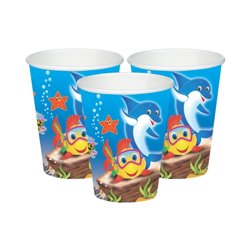 Underwater Paper Cups - Pack of 10