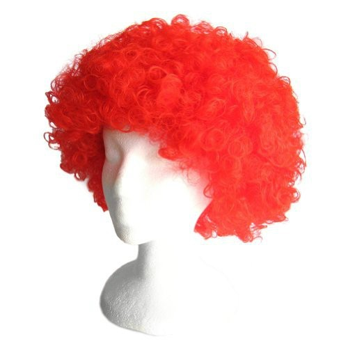 Red Frizzy Afro Wig