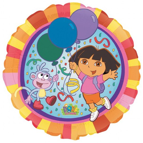 Dora The Explorer Foil Balloon - 18""