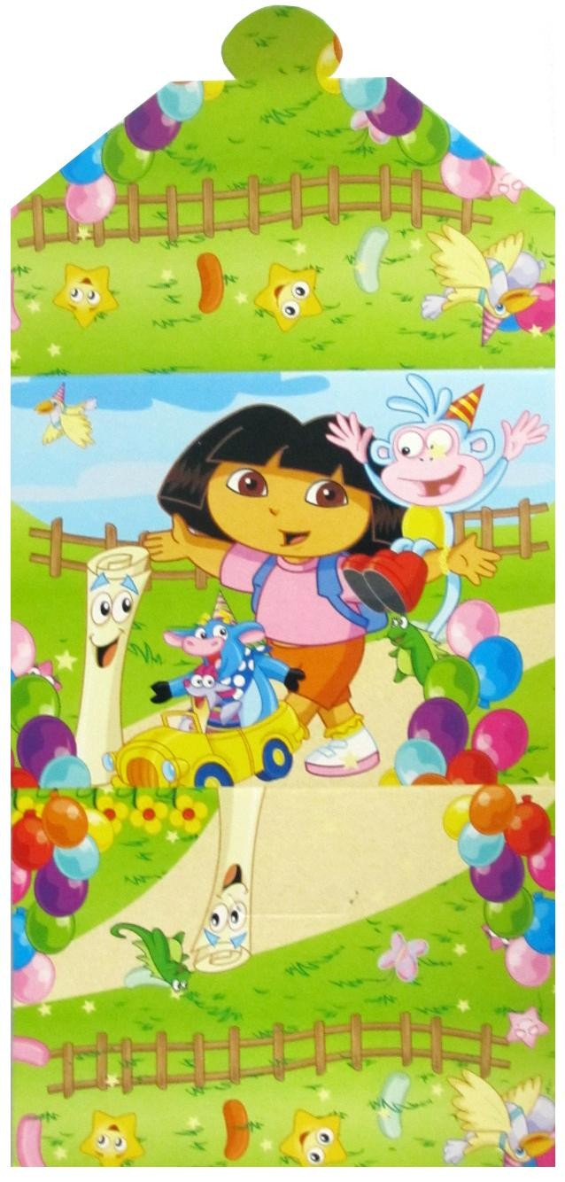 Dora Party Invitation Cards (Pack of 10)