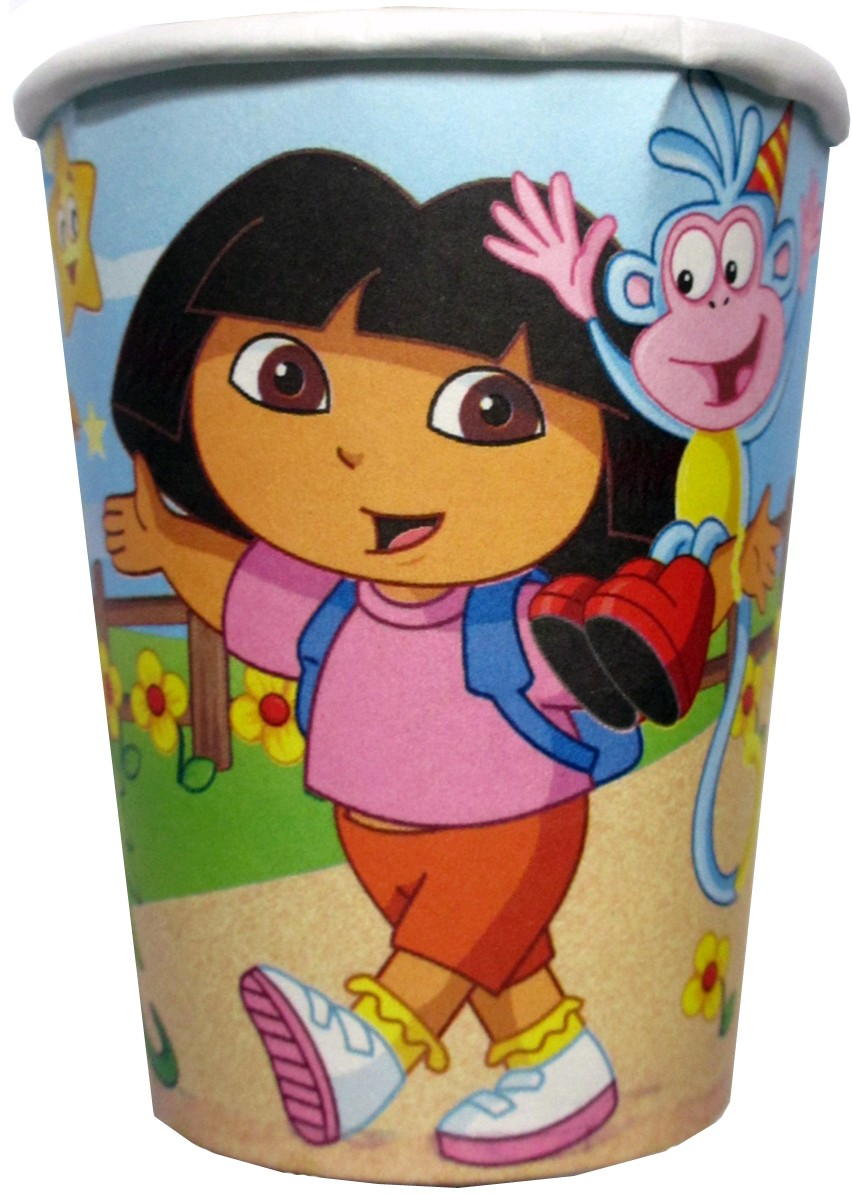 Dora Party Paper Cups (Pack of 10)