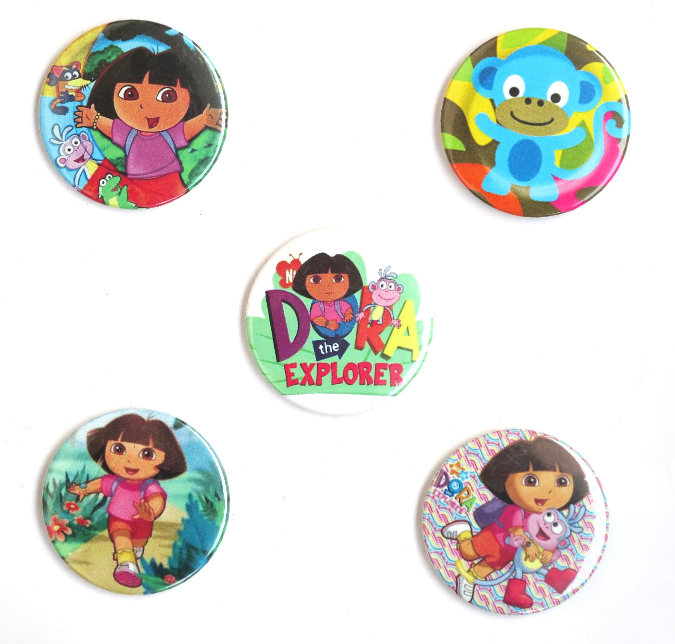 Dora Pin Badges ( Pack of 5)