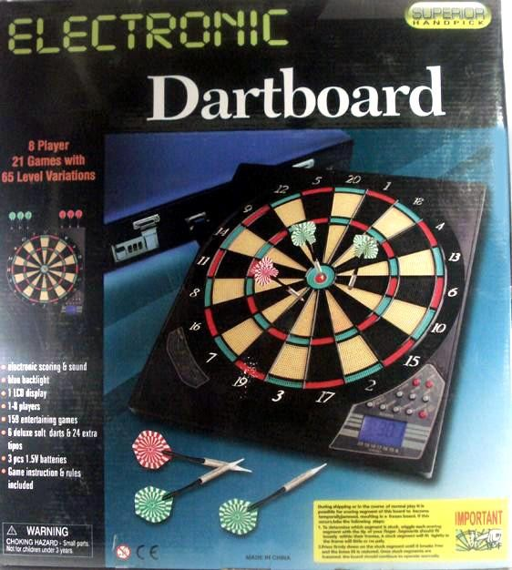 Game - Electronic Dart Board