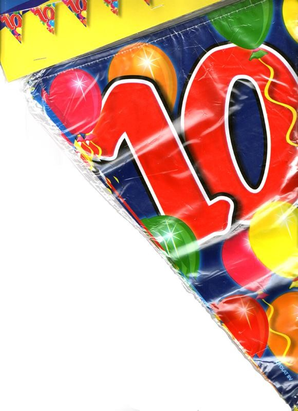 Birthday Flag Banner 10 Years Old