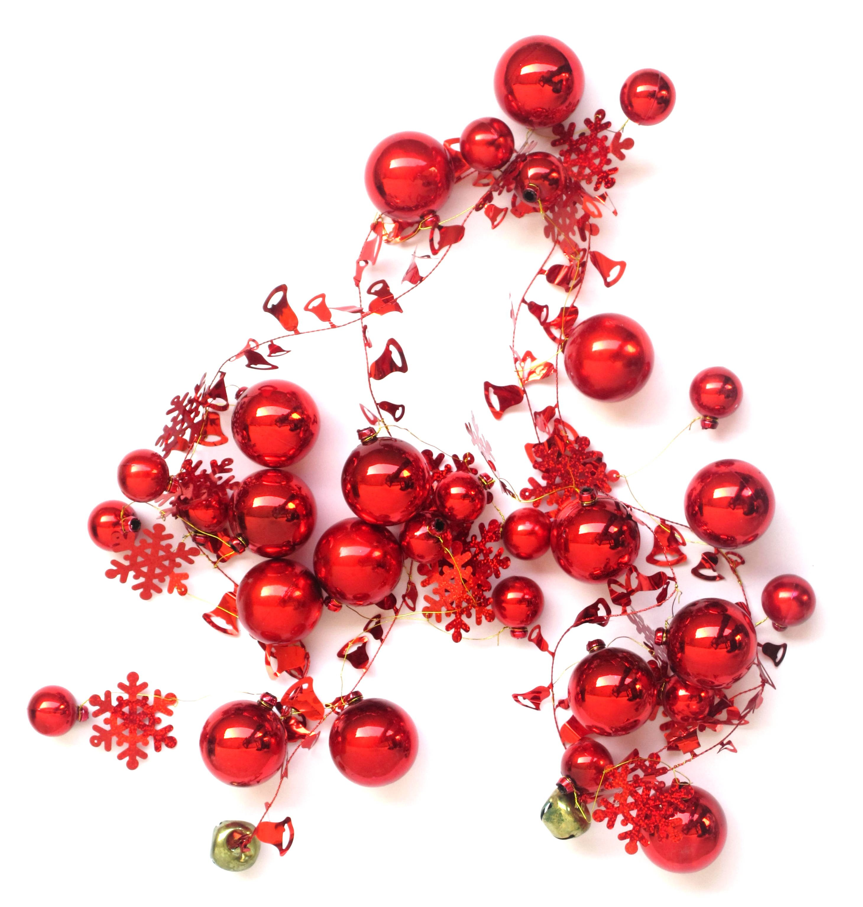 Christmas Garland - Red