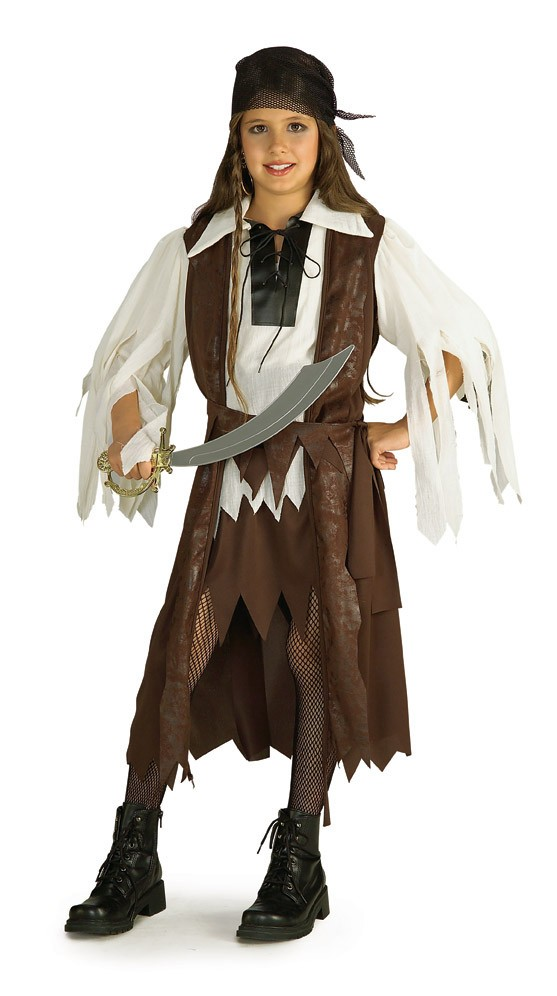 Caribbean Pirate Costume For Girls