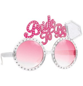Bachelorette Diamond Bling Glasses