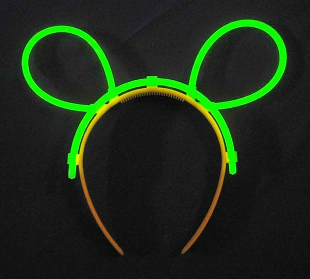Glow Hairpin (Hairband) - Green