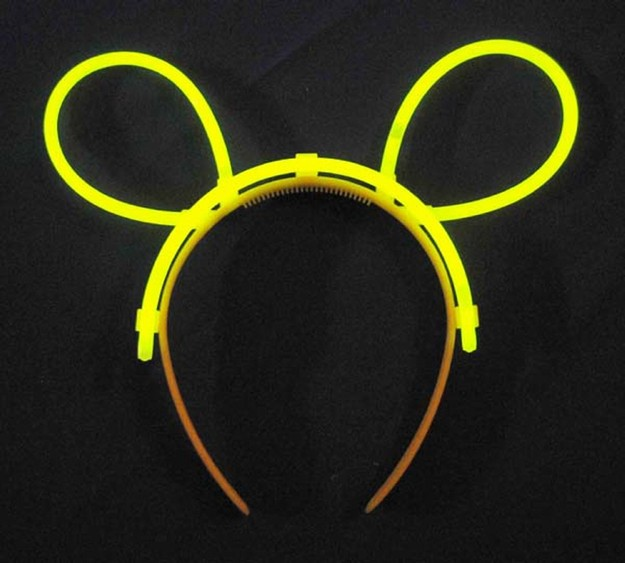 Glow Hairpin (Hairband) - Yellow