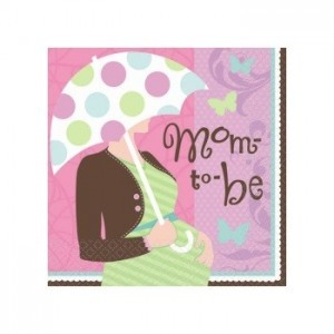 Great Expectations Baby Shower Paper Napkins (Pack Of 36)