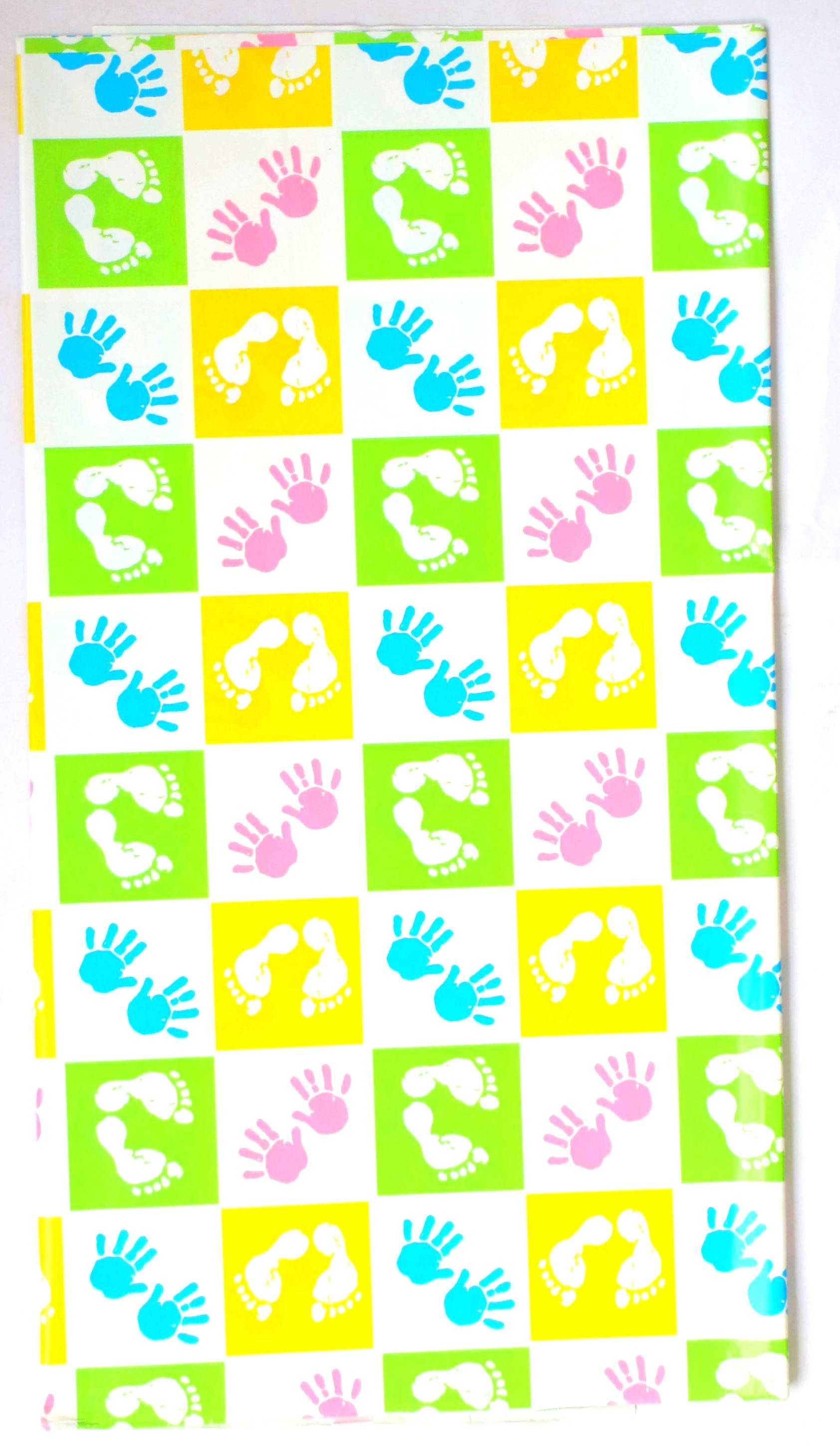 Baby Shower Gift Wrap (Pack Of 10)