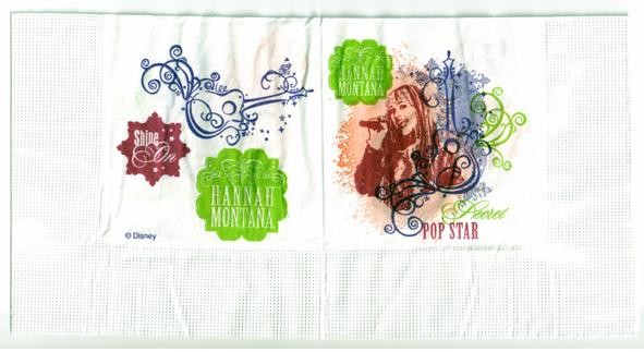 Hannah Montana Paper Napkins - Pack of 16