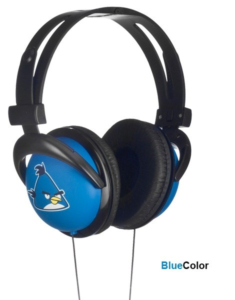 Angry Birds Headphone (Blue)