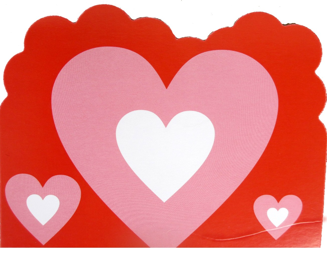 Candy Hearts Valentines Day Invitation Cards (Pack Of 10)