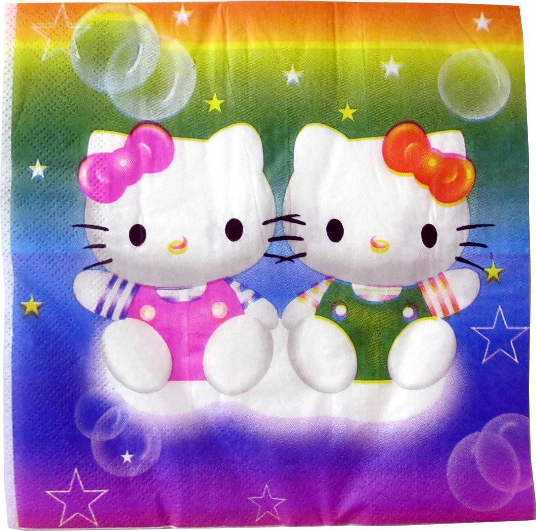 Hello Kitty Paper Napkins (Pack of 10)